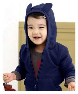 Áo Khoác Trẻ Em Tai Thỏ AK37113-AK100